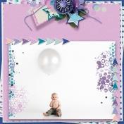 Baby Love- birthday balloon