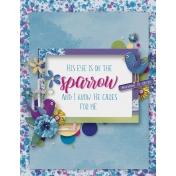 Bright & Cheerful- Sparrow