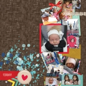 Baby girl month 2- left side