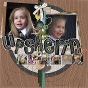 Upsherin- left side