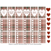 Love Planner Stickers