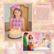 Lielle turns 6