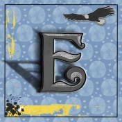 E is for Eagle and Earth