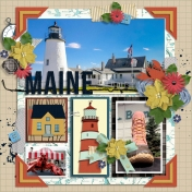 50 States: Maine