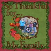So Thankful for...