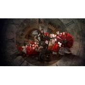 wallpaper Steampunk love