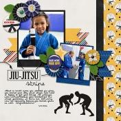 Jiu Jitsu Stripe