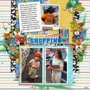 school supplies shopping