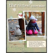 the littlest snowman