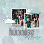bubbles with Nana
