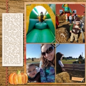 Pumpkin Patch Playdate, part 1