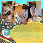A Preschool Day