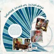 Belated Brother Birthday