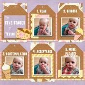 The 5 Stages of Trying Ice Cream