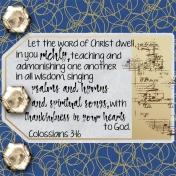 30 Days of Thankfulness, Day 1