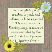 30 Days of Thankfulness, Day 18