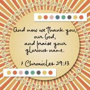 30 Days of Thankfulness, Day 20