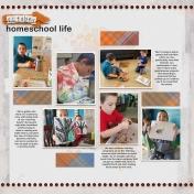 October Homeschool Life