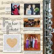 All About Music- F is for Flute