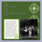 All About Music- N is for Nickel Creek
