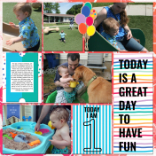 Isaacs First Birthday