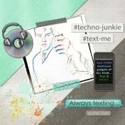 My techno geek boy =)
