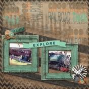 South Dakota Vintage Train