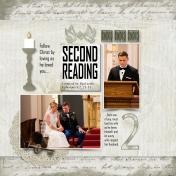 Second Reading Wedding