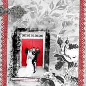 Wedding Red Church Doors