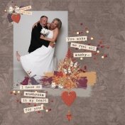 Fall In Love Layout Challenge