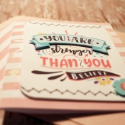 You Are stronger Than You Believe card Details
