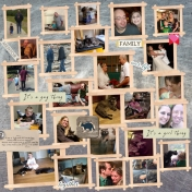 KT's Family Scrapbook Layout