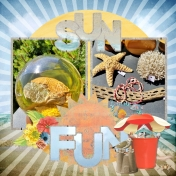 Sun Fun Beachcombing