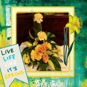 June 2019 Flowers Layout challenge