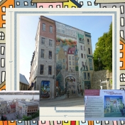 Day 94 The Murals of Old Quebec City