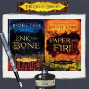 The Great Library Book series