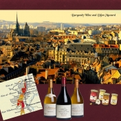 Burgundy Wine and Dijon Mustard