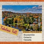 Ontario in the Autumn