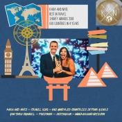 Around the World with Kara and Nate