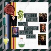 Slytherin House at Hogwarts School