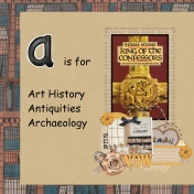 A is for Antiquities