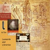 L is for Leonardo