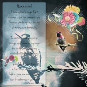 Hummingbird- Art Journal