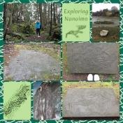 Nanaimo- petroglyphs
