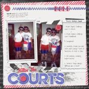 Hittin' the Courts
