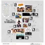 Feb Layout - TV Favs
