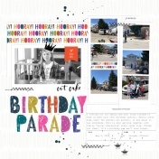 Drive-by Birthday | Sahin Designs