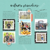 October Template | Sahin Designs