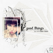 Good Things- July 2016