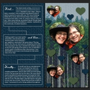 """""""Trip to the Woods"""" Album (Page 3 & 4)"""